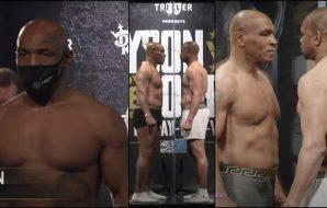 Mike Tyson Roy Jones Jr
