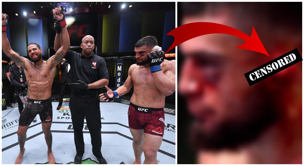 UFC Ramiz Brahimaj vs Max Griffin