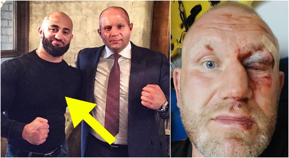 UFC Fighter Adam Yandiev Sergei Kharitonov (Instagram)