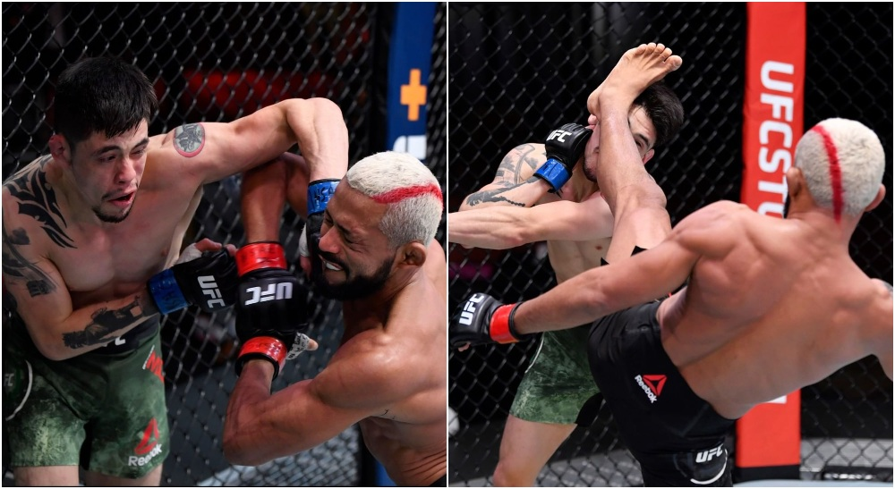 UFC 256 Deveison Figueiredo Brandon Moreno (Instagram_ @UFC)