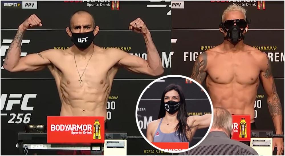 UFC 256 Invagning