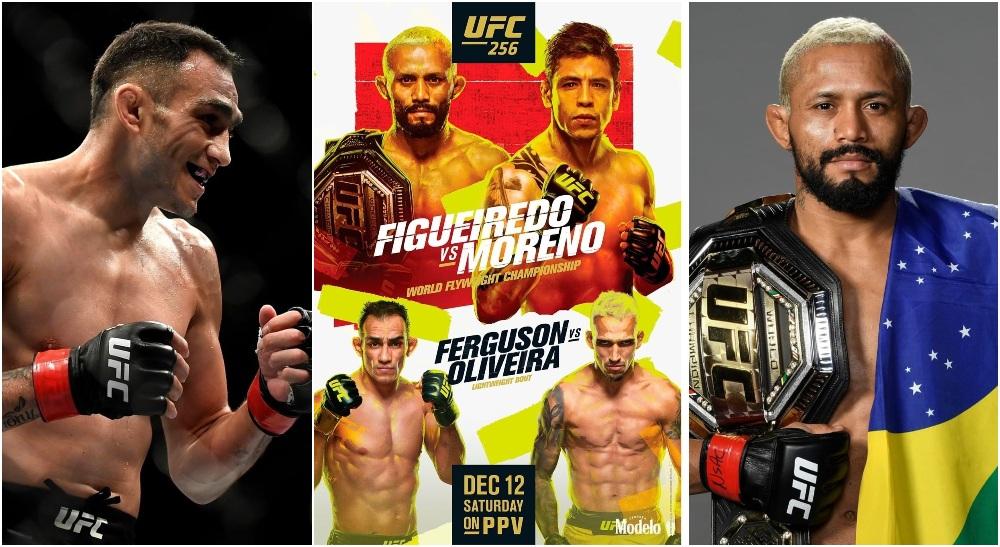UFC 256 Tony Ferguson Deiveson Figueiredo (Instagram_ @UFC)