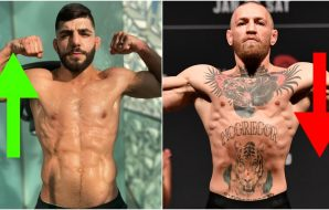 UFC ranking Amir Albazi Conor McGregor (Jeff Bottari_Handout Photo via USA TODAY Sports)
