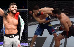 Amir Albazi UFC (© Handout Photo-USA TODAY Sports)