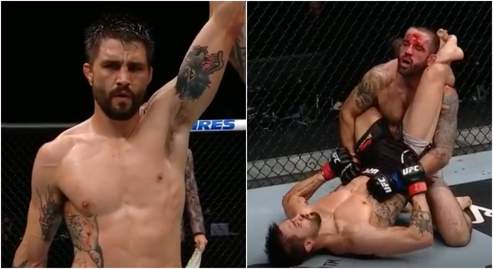 Carlos Condit Matt Brown (Screenshot UFC)