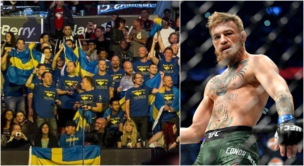 UFC fans Conor McGregor (© Stephen R. Sylvanie-USA TODAY Sports)