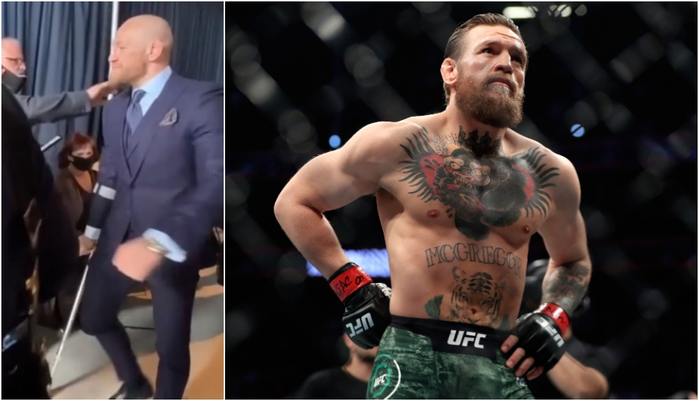 Conor McGregor Mark J. Rebilas-USA TODAY Sports