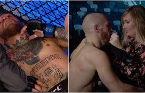 UFC 257 Conor McGregor (UFC Screenshot)