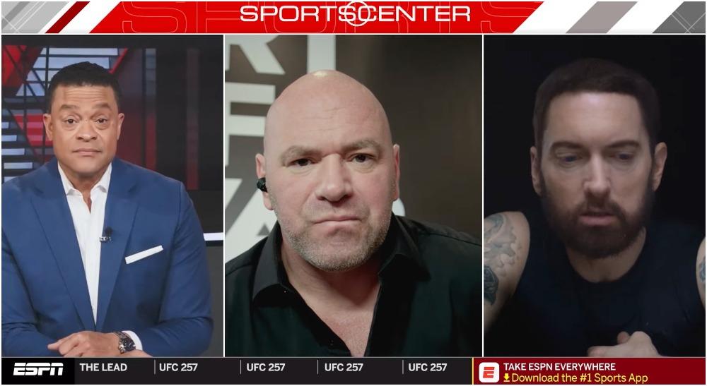Eminem Dana White UFC