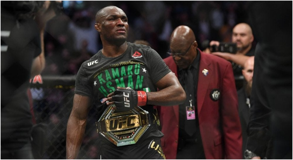 Kamaru Usman (© USA TODAY via Imagn Content Services, LLC)