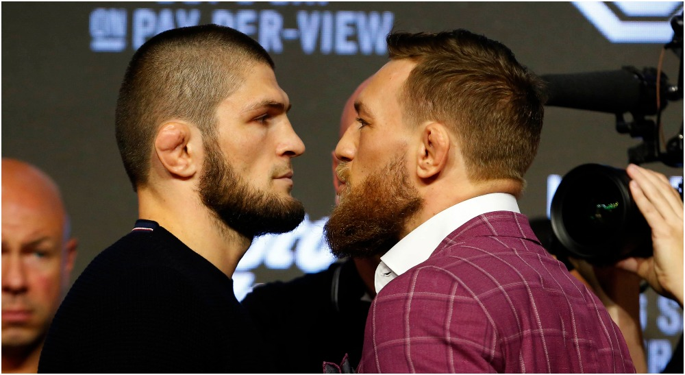 Comeback Khabib Nurmagomedov Conor McGregor (© Noah K. Murray-USA TODAY Sports)