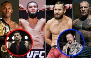 MMAnytt Adesanya McGregor Masvidal Khamzat (USA Today Sports + Instagram)