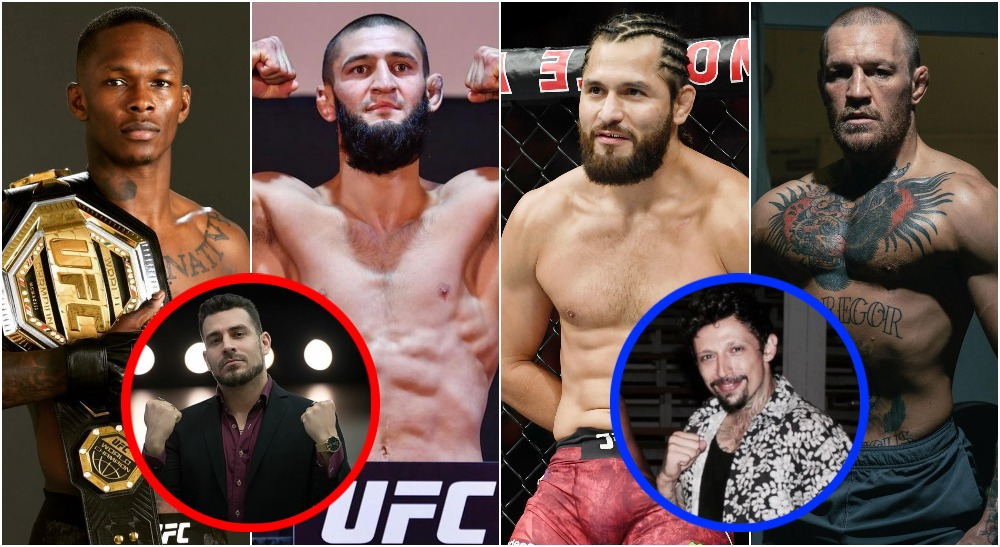 MMAnytt Adesanya McGregor Masvidal Khamzat (USA Today Sports + Instagram)