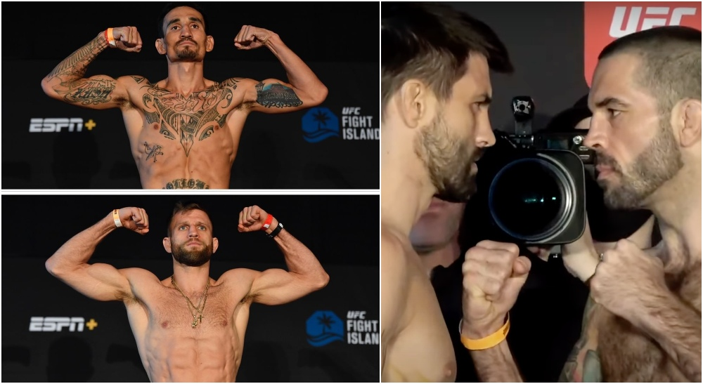 UFC Max Holloway Calvin Kattar Carlos Condit Matt Brown