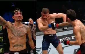 Max Holloway Calvin Kattar (Screenshot UFC)