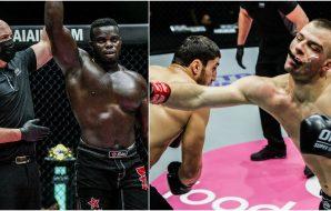 Mihajlo-Kecojevic-Beybulat-Isaev-Alain-Ngalani-Oumar-Kane (ONE Championship)
