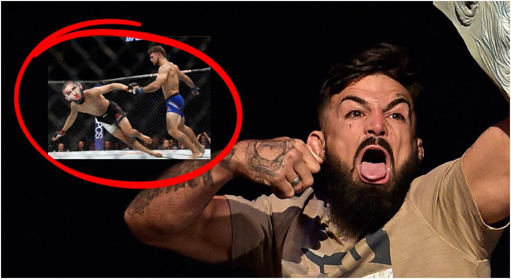 Mike Perry (© Steve Mitchell-USA TODAY Sports)