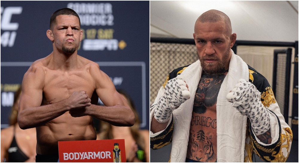 Nate Diaz, Conor McGregor