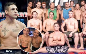 The Ultimate Fighter 1 Diego Sanchez (© Stephen R. Sylvanie-USA TODAY Sports)