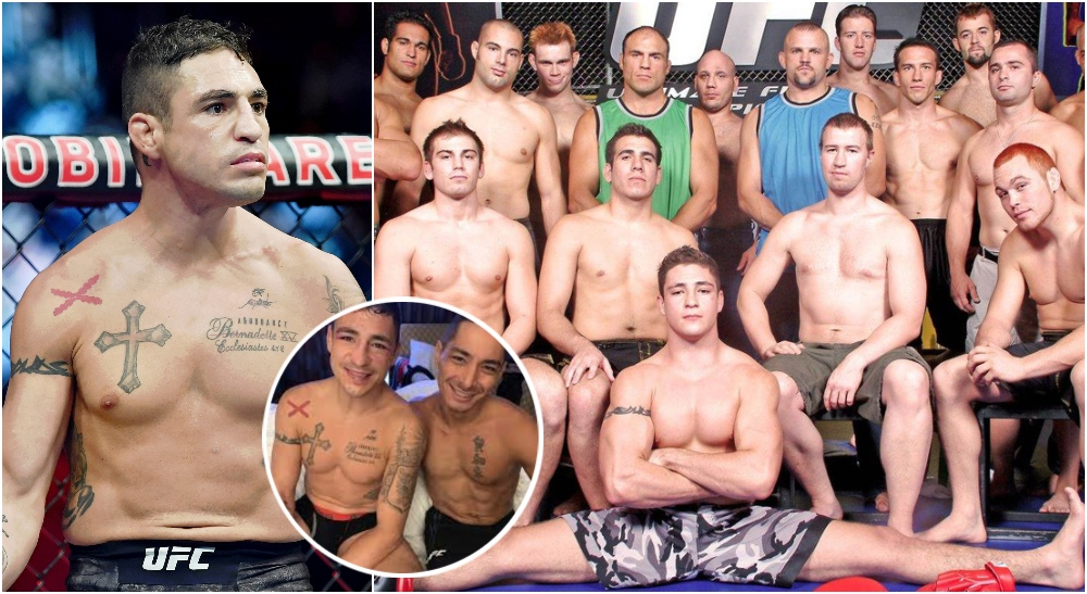 The Ultimate Fighter 1 Diego Sanchez (© Stephen R. Sylvanie-USA TODAY Sports)