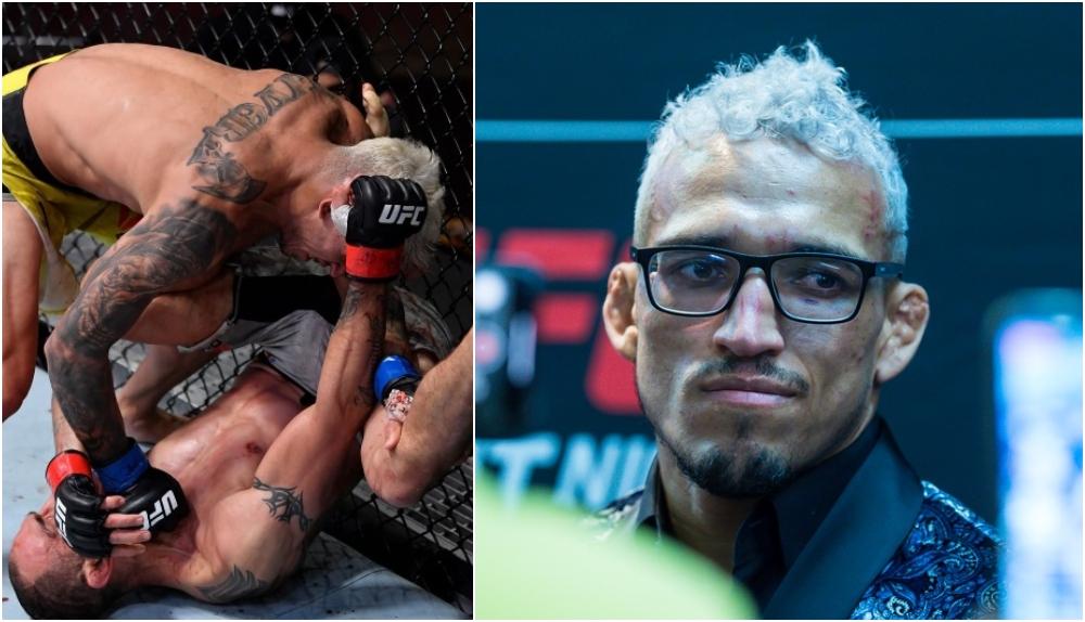 Charles Oliveira. Foto © Jason da Silva-USA TODAY Sports, UFC Instagram