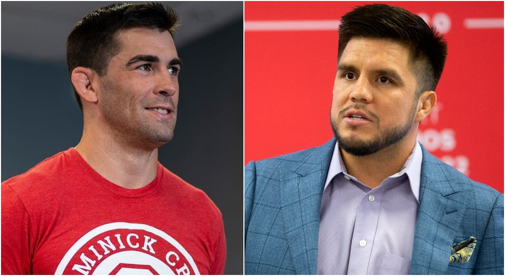 Dominick Cruz Instagram (@dominickcruz) Henry Cejudo © David Wallace