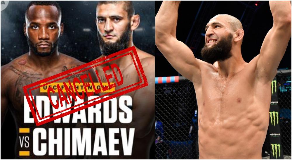 Khamzat Chimaev Leon Edwards (Jeff Bottari_Zuffa LLC via USA TODAY Sports)