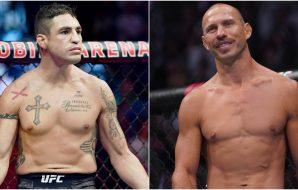 MMAnytt Diego Sanchez Donald Cerrone (© Stephen R. Sylvanie-© Kyle Terada-USA TODAY Sports)