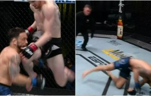 MMAnytt Frankie Edgar Cory Sandhagen (UFC Screenshot)