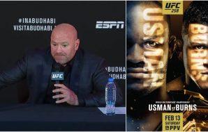 UFC 258 presskonferens