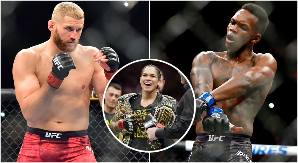 UFC 259, Jan Blachowicz, Israel Adesanya, Amanda Nunes