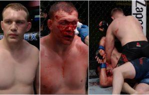 UFC domare Serghei Spivac vs Jared Vanderaa