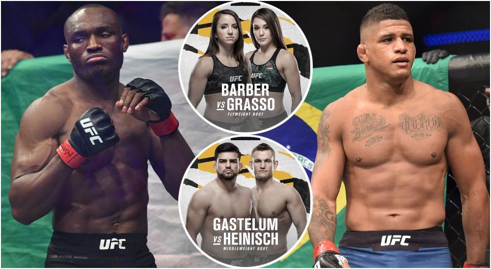 UFC 258, Kamaru Usman, Gilbert Burns