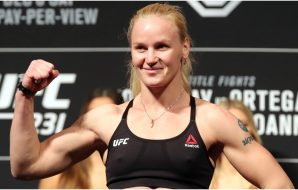 Valentina Shevchenko (© Tom Szczerbowski-USA TODAY Sports)