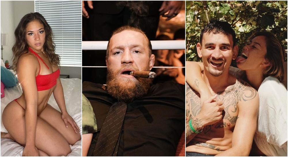 Valerie Loureda Conor McGregor Max Holloway (Instagram Screenshots)