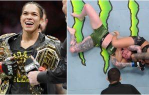 Amanda Nunes (Screenshot UFC MMAnytt)