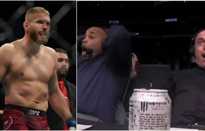 Jan Blachowicz, Daniel Cormier, Joe Rogan © Kirby Lee US Sport TODAY