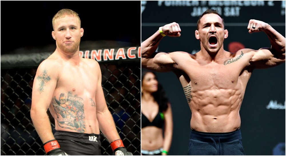 Justin gaethje Michael Chandler, © Steven Branscombe, Jeff Bottari, US Sport TODAY
