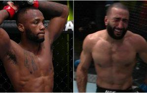 Leon Edwards Belal Muhammad UFC Screenshot