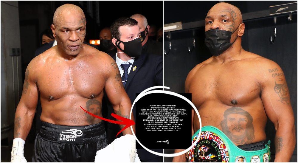 Mike Tyson (Joe Scarnici_Handout Photo via USA TODAY Sports)