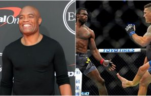 Anderson SIlva, Uriah Hall, Chris Weidman, © Kirby Lee, Jasen Vinlove, US Sport TODAY