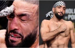 Belal Muhammad © Per Häljestam, Adam Hagy-USA TODAY Sports
