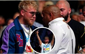 Jake Paul, Daniel Cormier, © Jasen Vinlove,, US Sport TODAY