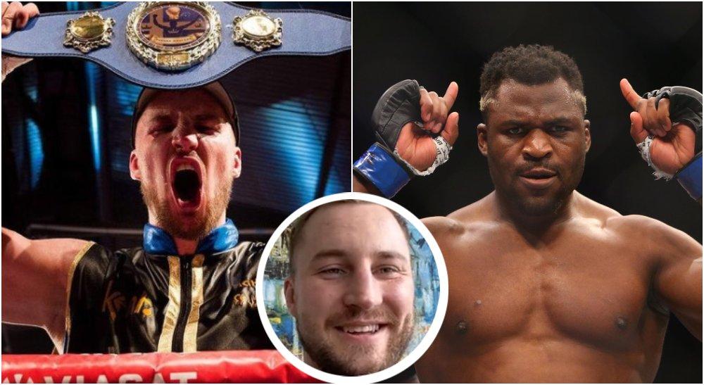 Otto Wallin ger kaxigt svar till UFC-mästaren Francis Ngannou!