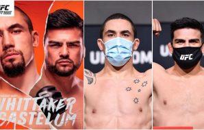 UFC Vegas 24, Robert Whittaker, Kelvin Gastelum
