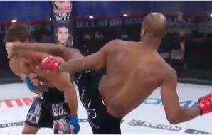 Bellator 258 Michael Venom Page knockout