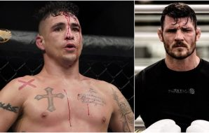 Diego Sanchez Michael Bisping (© Kirby Lee-USA TODAY Sports + IG @MikeBisping)