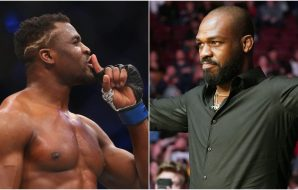 Francis Ngannou, Jon Jones, © Jerry Lai, Kirby Lee, US Sport TODAY