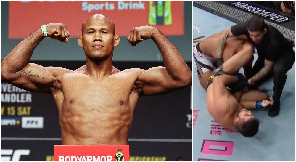 UFC Ronaldo Jacare Souza (© Troy Taormina-USA TODAY Sports)