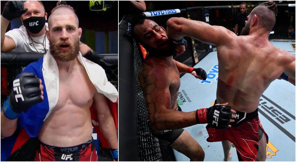 Jiri Procházka Dominick Reyes UFC Vegas 25